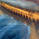 aquaduct and sea