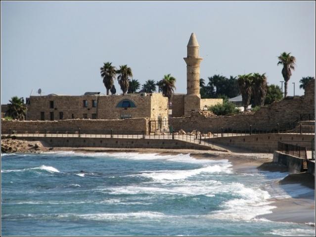 minaret from sea